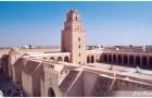 La grande mosquée de Kairouan, Tunisie