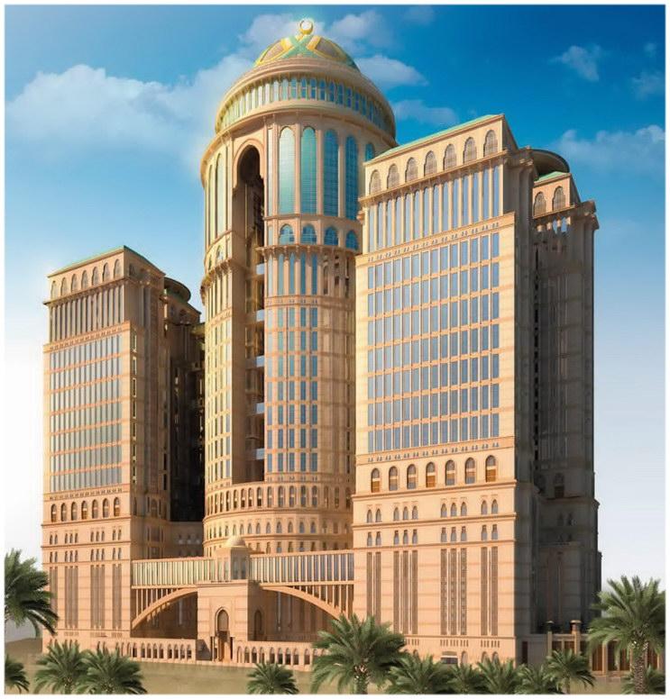 Le plus grand Hôtel de la planète ouvrirait à la Mecque en 2017