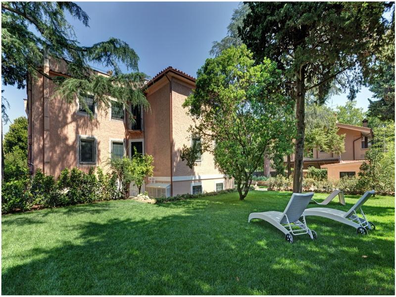 Hotel Appia Antica Resort, Rome, Italie; jardin