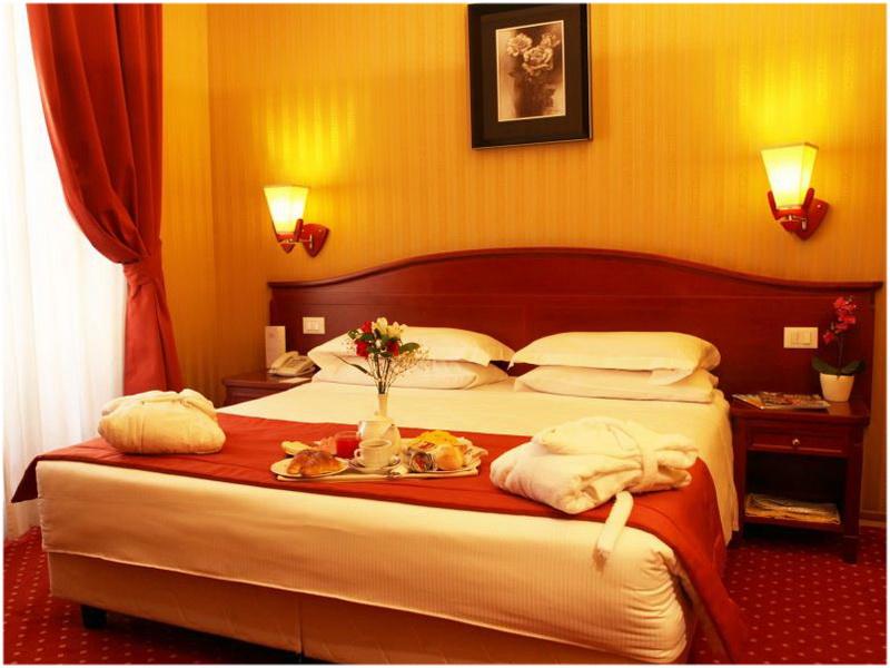 Hotel Augusta Lucilla Palace, Chanbre