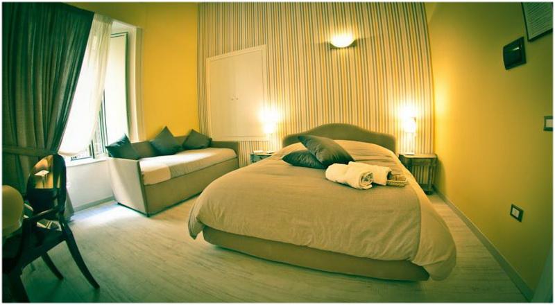 Hotel B I Visconti, Naples, Italie, chambre