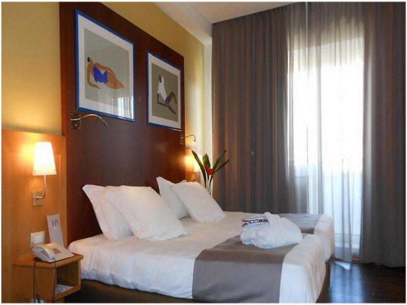 Hotel B&B Jolie, Rome, Italie, chambre