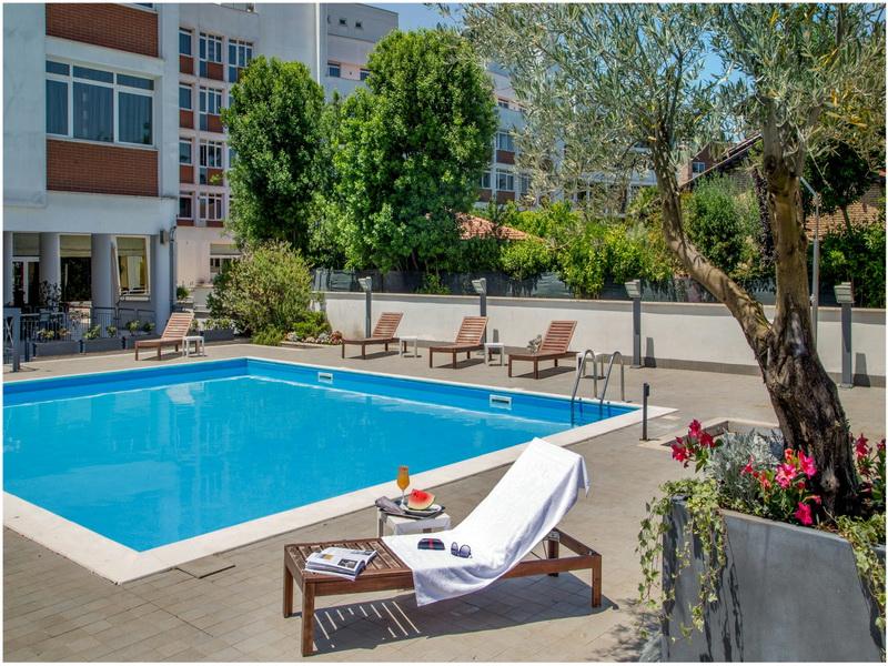 Hotel Capannelle, Roma, Italie, piscine