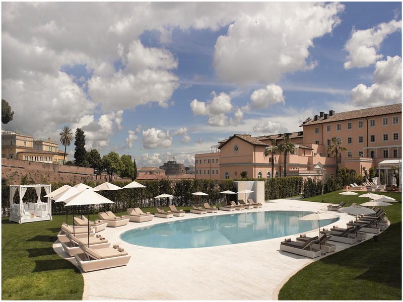 Hotel gran melia rome italie cap voyage for Rome gran melia hotel