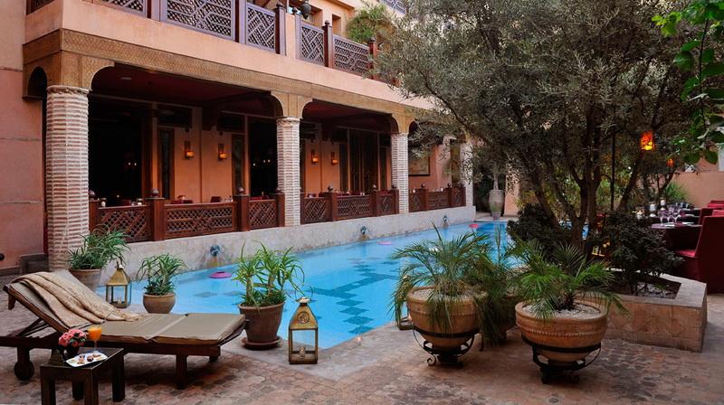 Hotel la maison arabe marrakech maroc cap voyage for Construction piscine marrakech
