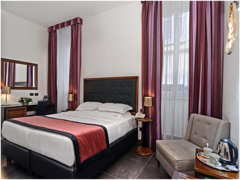 Hotel Navona Colors, Rome, Italie, chambre