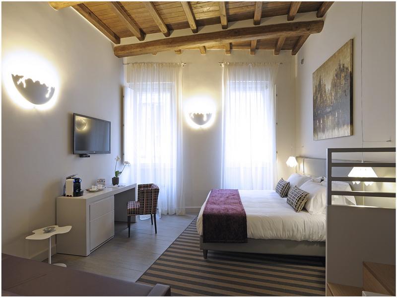 Hotel Navona Palace, Rome, Italie; chambre