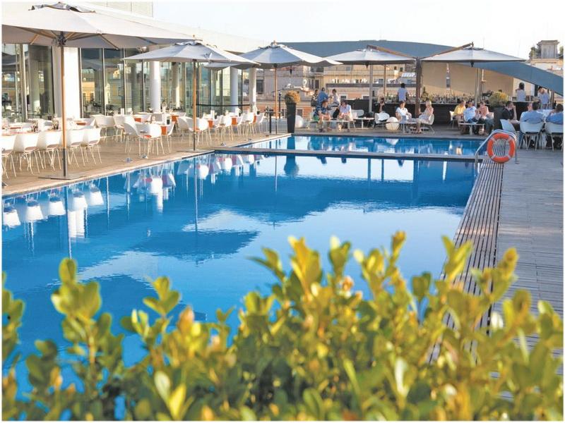 Hotel Radisson Blu es, Roma, Italie, piscine