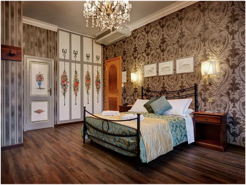 Hotel Residenza In Farnese, Rome, Italie, chambre