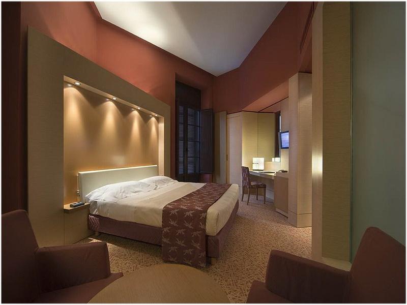 Hotel UNA_ Naples, Italie, chambre