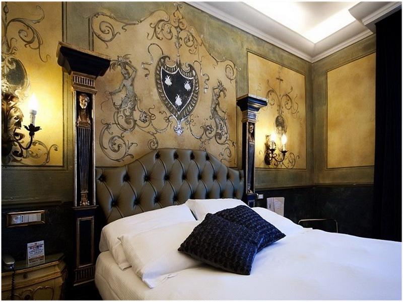 Hotel Veneto Palace, Rome, Italie, chambre