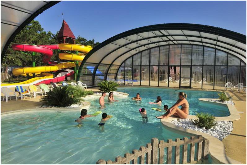 Campings de la for t fouesnant france cap voyage for Camping de la piscine fouesnant