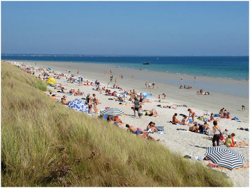 plage, La Foret-Fouesnant,France