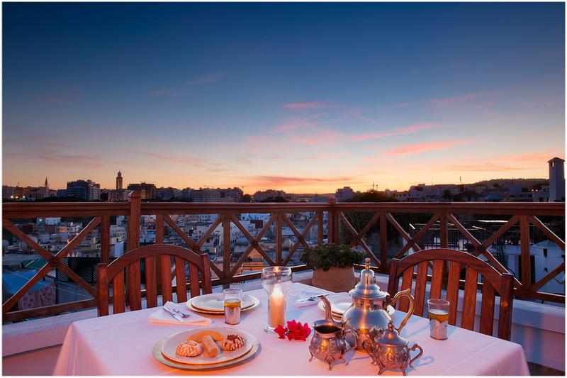 Hotel la maison blanche tanger maroc cap voyage for Auberge de la maison blanche