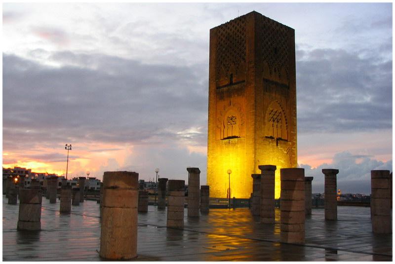 La Tour Hassan Rabat Morocco