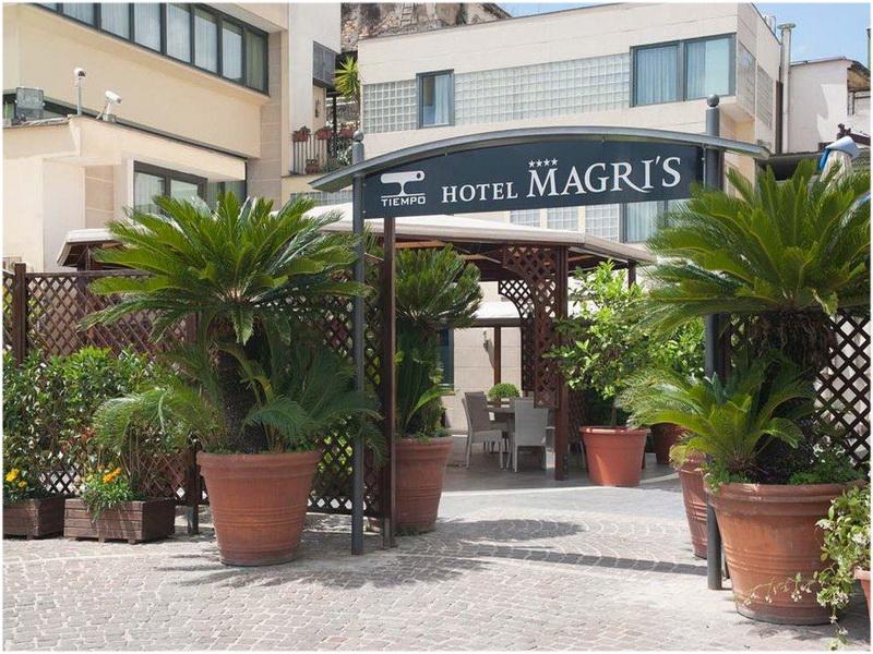 Magri's Hotel, Naples, Italie