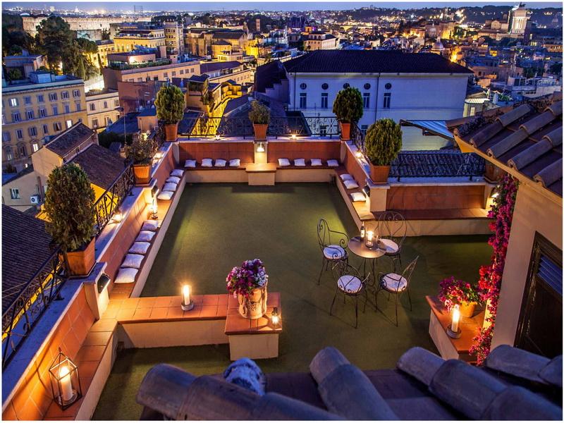 Hotel Centre Colis E Rome Italie Cap Voyage