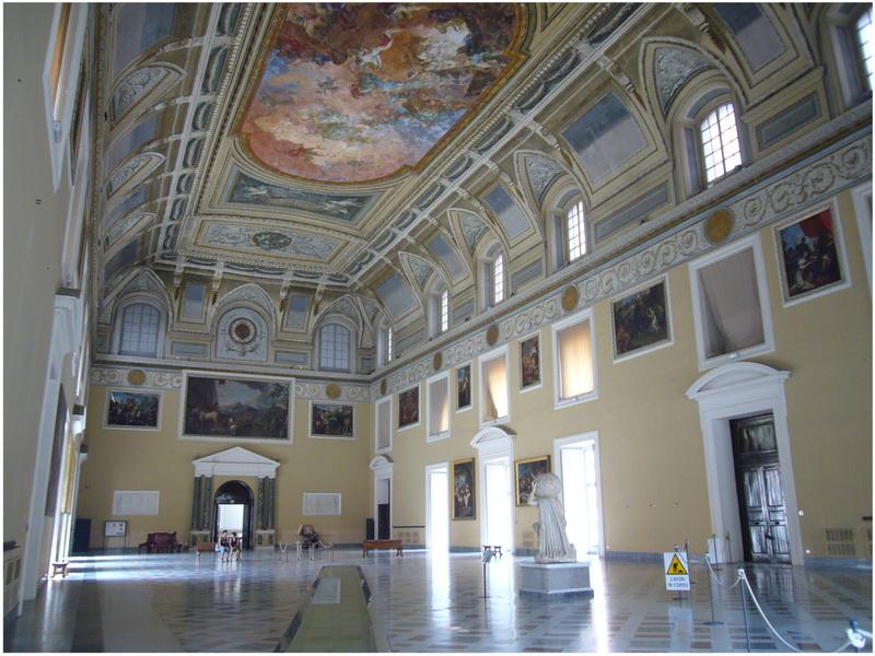 Musée Archéologique National, Naples, Italie, salon de meridiana