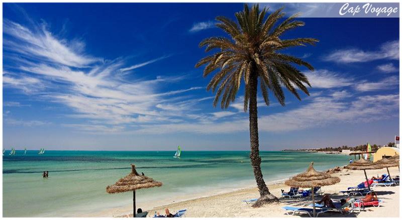 Plage de l'île de Kerkennah, voyage en Tunisie