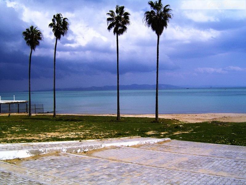 Plage de Sidi Bou Said, voyage en Tunisie