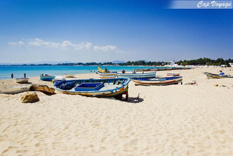 Hammamet, Plus belles plages de Tunisie