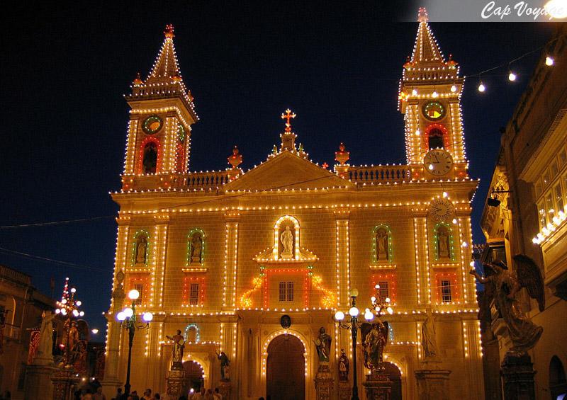 Qormi, Malte, fete de St-Sebastian