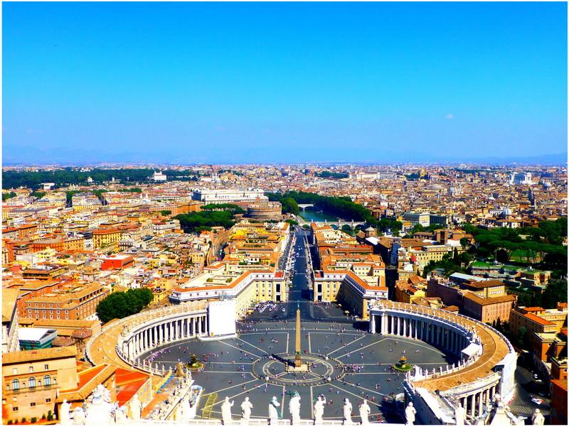 Un Voyage à Rome, Italie