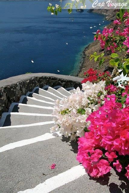Santorin, Grece, plage