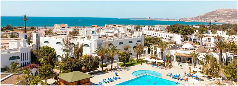 Hotel le tivoli by blue sea agadir, Maroc