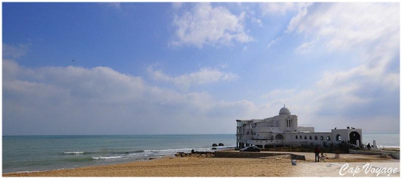Plage de la Marsa, voyage en Tunisie