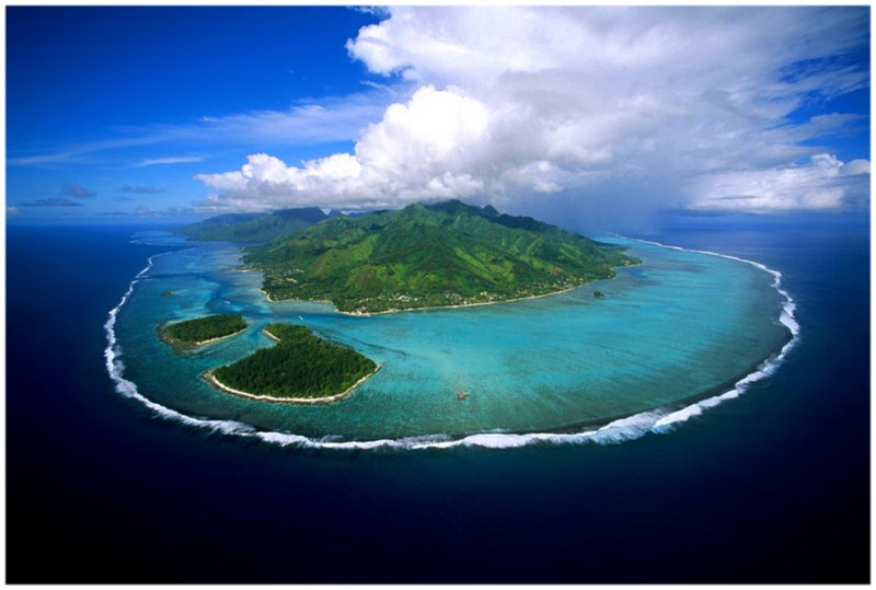 Baie de Cook, Moorea, Tahiti