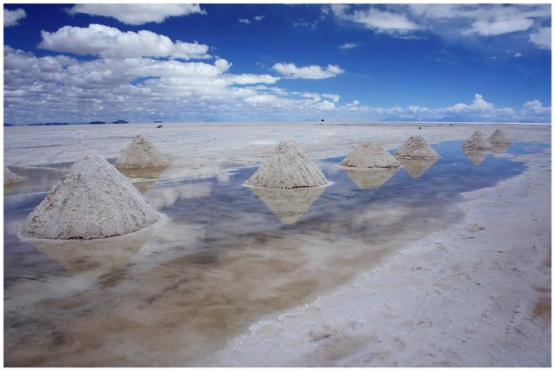 Désert de sel d'Uyuni en Bolivie