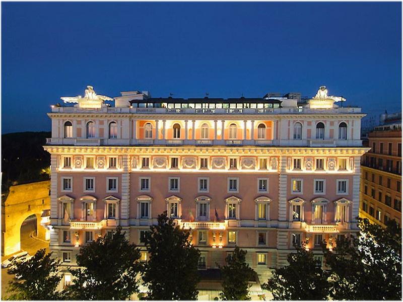Grand Hotel Flora, Rome, Italie