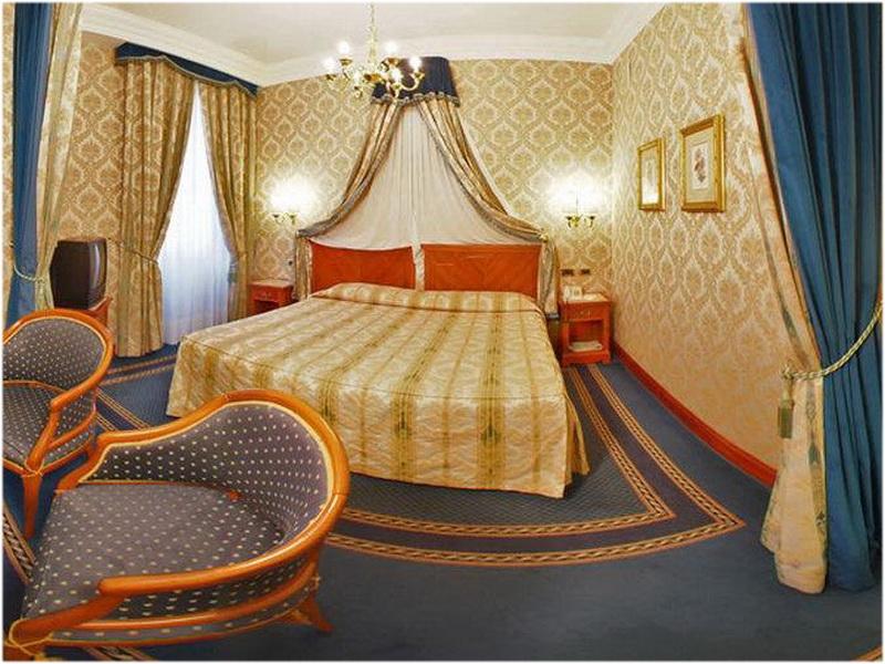 Hotel Barberini, Rome, talie, Chambre