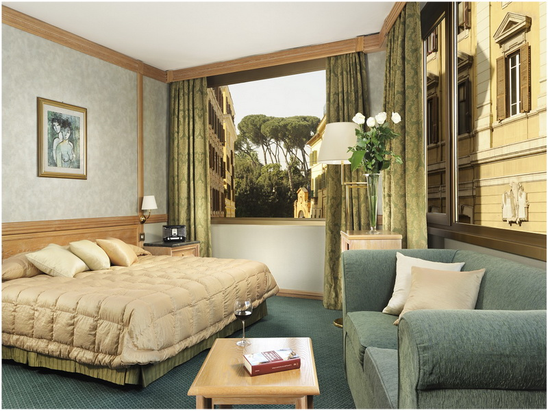 Hotel Beverly Hills, Rome, Italie, Chambre