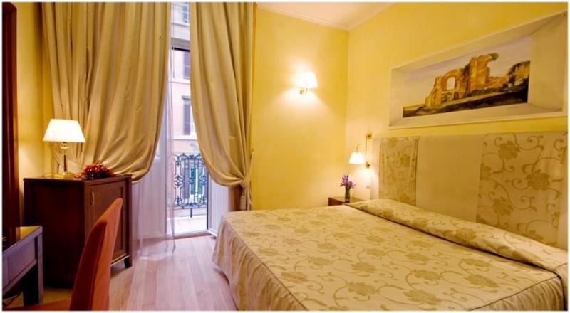 Hotel Camelia, Rome, Italie, Chambre