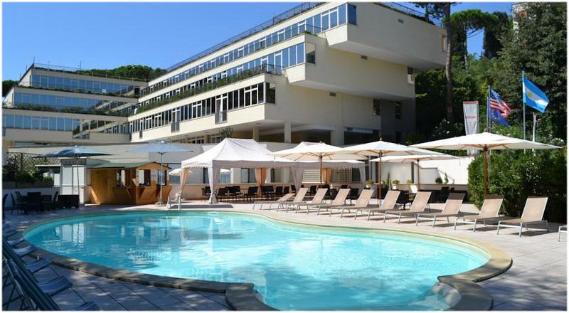 Hotel Cardinal, Rome, Italie, piscine