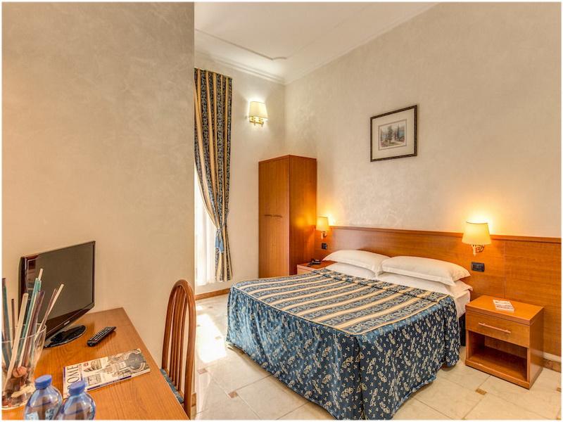 Hotel Centro Cavour, Rome, Italie, Chambre