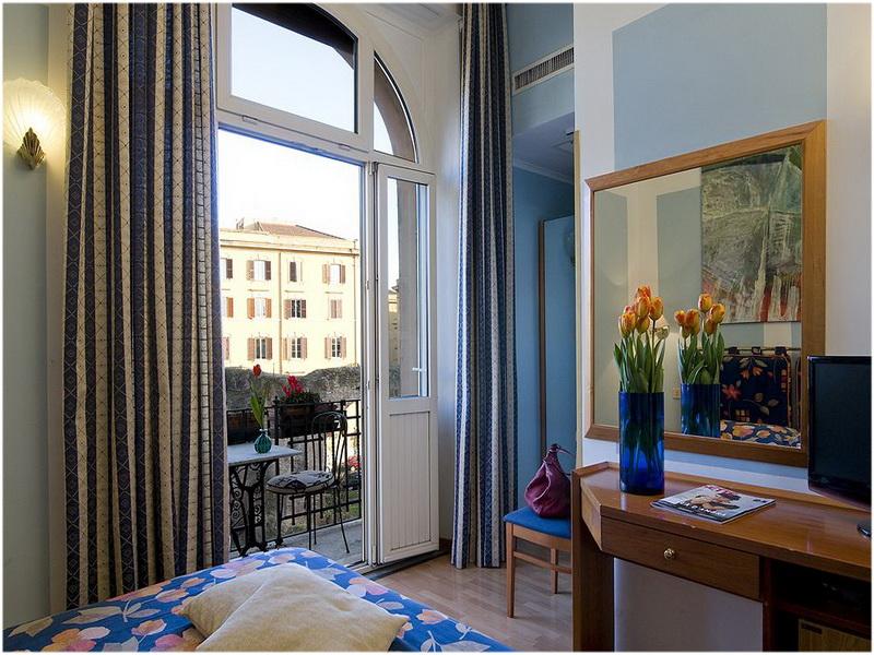 Hotel Emona Aquaeductus, Rome, Italie, Chambre