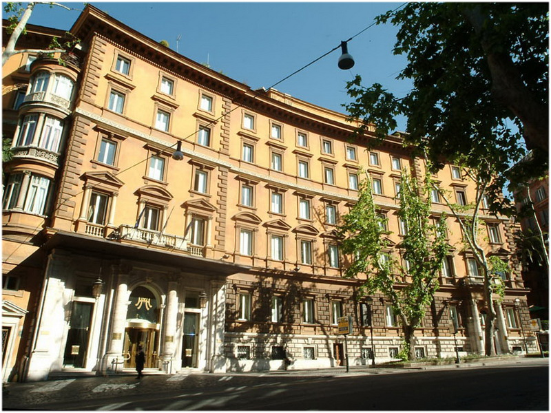 hotel empire palace rome italie cap voyage. Black Bedroom Furniture Sets. Home Design Ideas