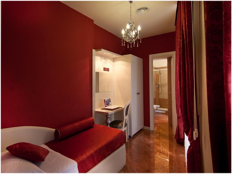 Hotel Fellini, Rome, Italie, Chambre