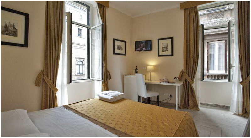 Hotel Four Rivers, Rome, Italie, Chambre