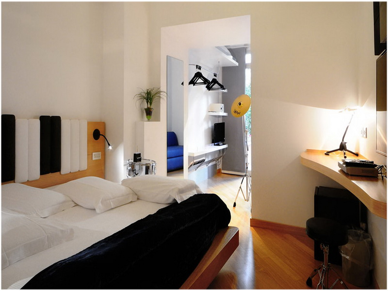 Hotel Franklin Feel the Sound, Rome, talie, Chambre