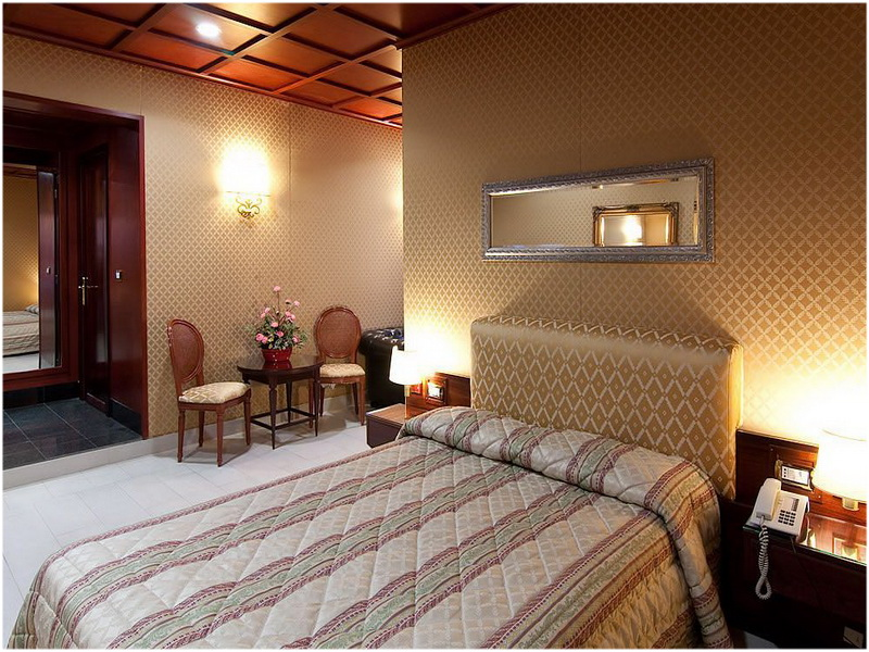 Hotel Galles, Rome, Italie, Chambre
