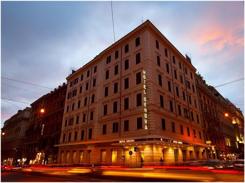Hotel Genova, Rome, Italie