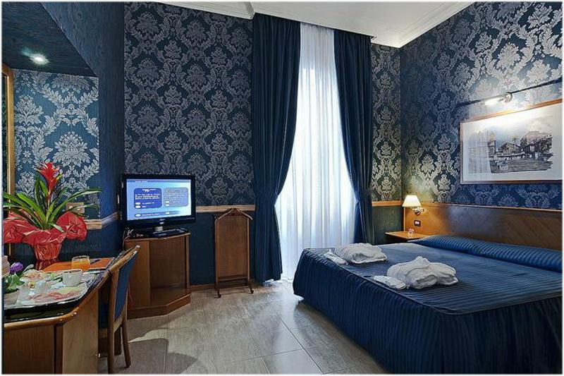 Hotel Gioberti, Rome, Italie, Chambre