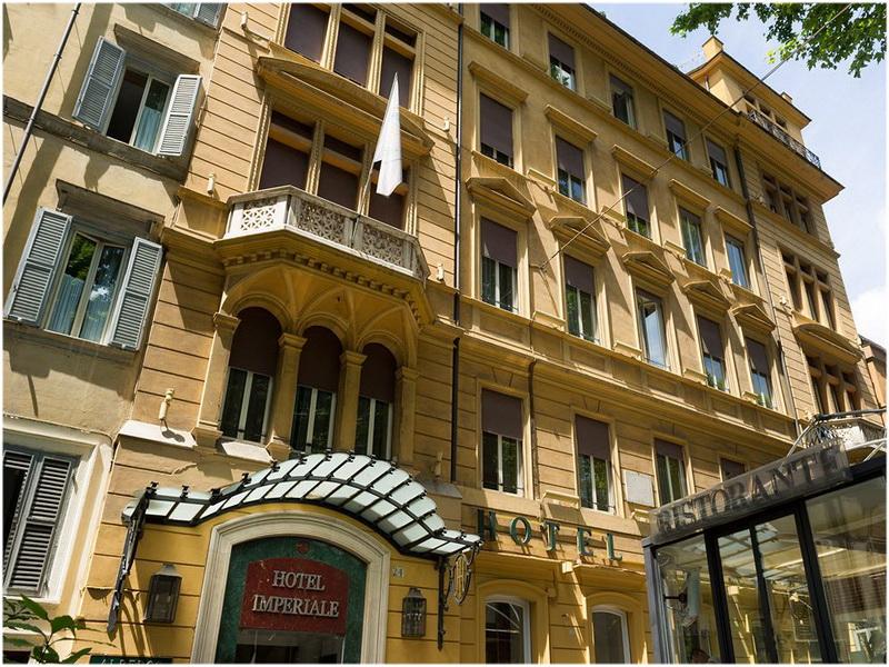 Hotel Imperiale, Rome, Italie
