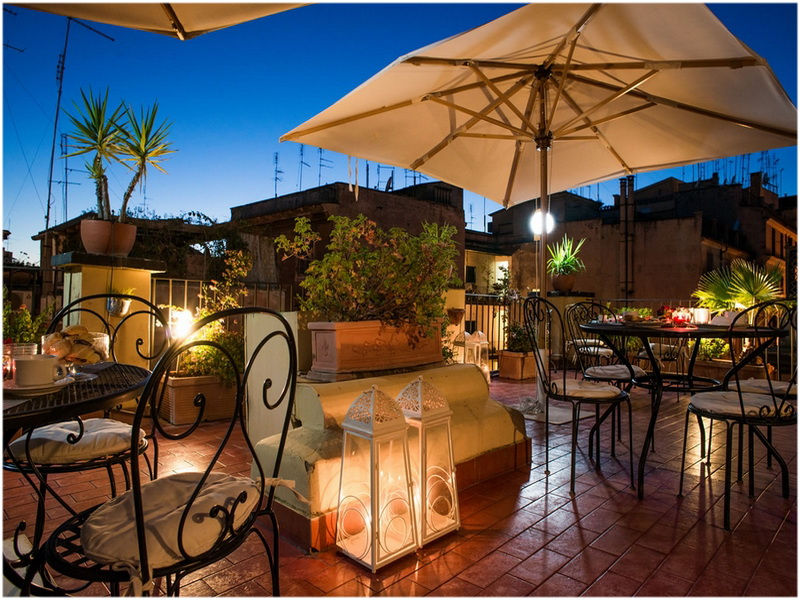 Hotel Ivanhoe, Rome, Italie