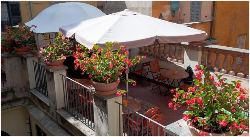 Hotel Le Clarisse al Pantheon, Rome, Italie, Térasse