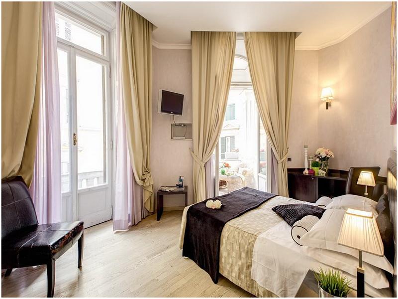 Hotel Le Petit, Rome, Italie, Chambre